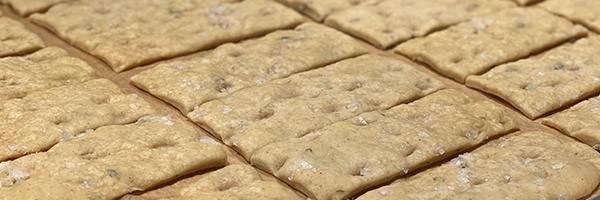 Sourdough focaccia crackers recipe thumbnail