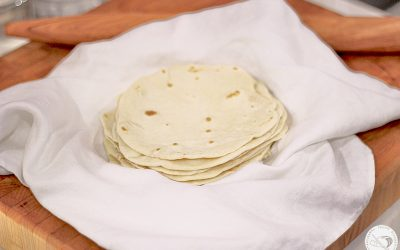 Bacon Fat Tortillas