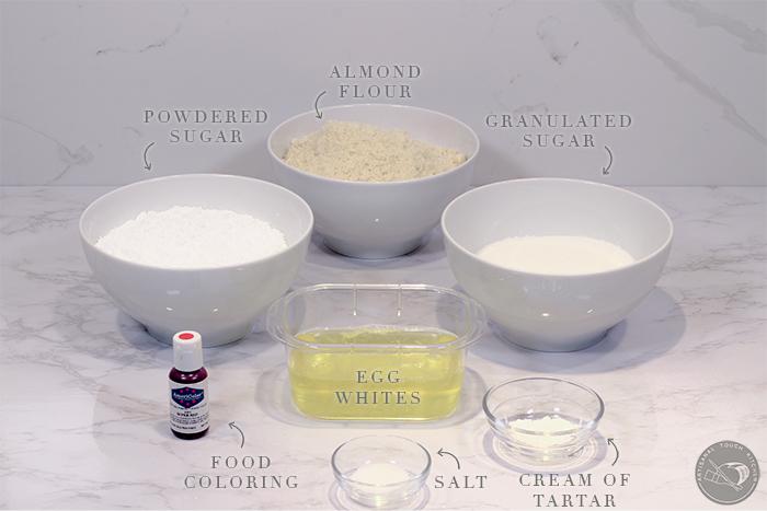 perfect macarons ingredients