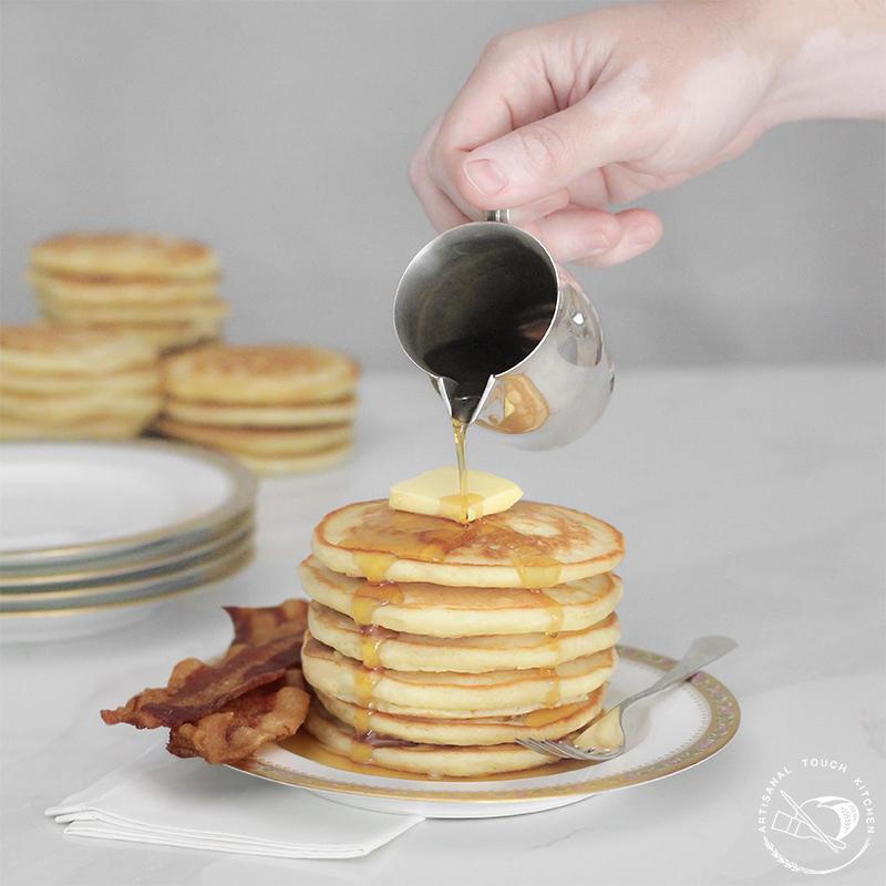 Sourdough pancakes 1