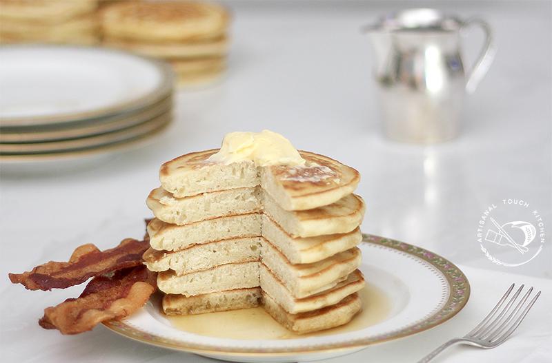 Sourdough pancakes 6