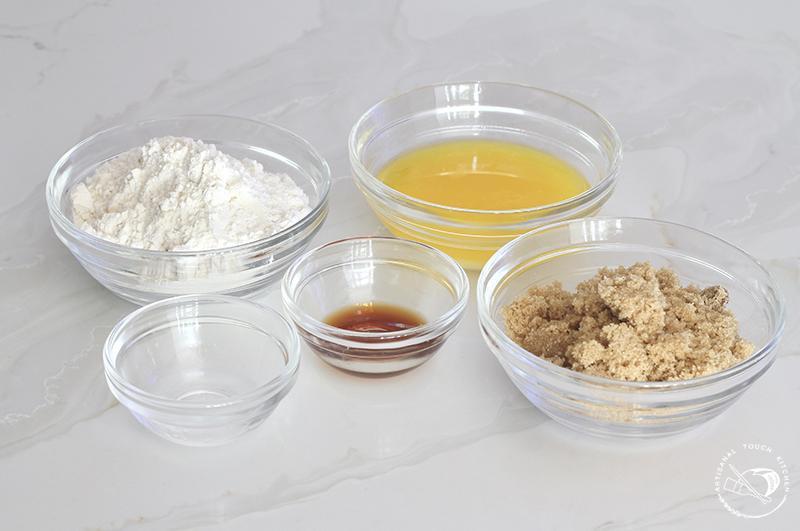 Peach cobbler sourdough cake ingredients 1