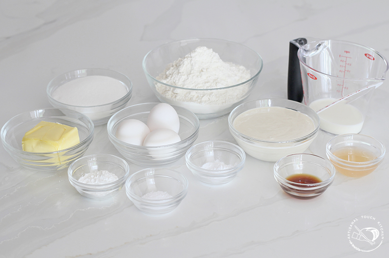 Peach cobbler sourdough cake ingredients 2
