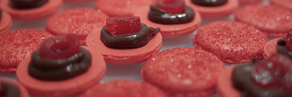 Chocolate covered cherry macaron filling recipe