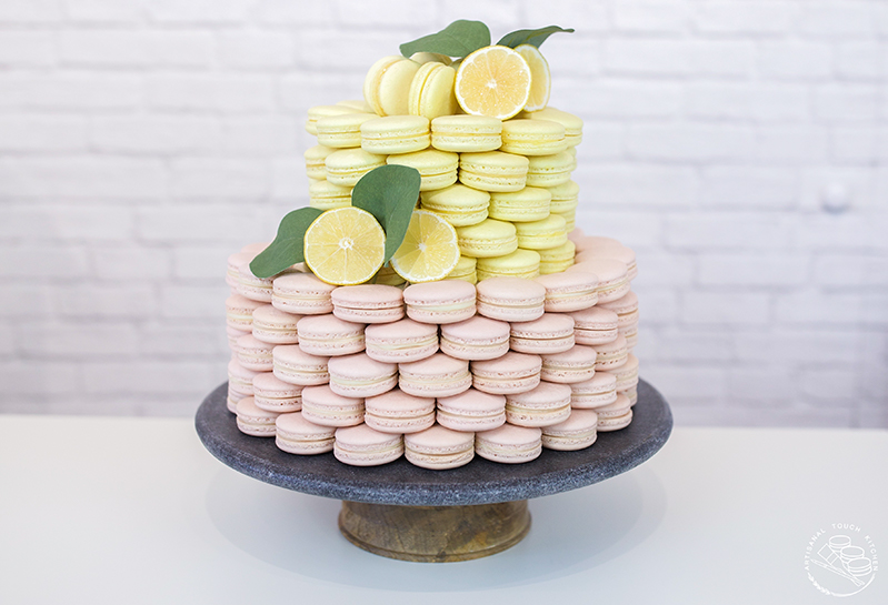 How to macaron cake