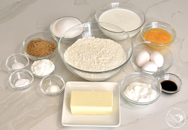 Perfect yellow cake ingredients