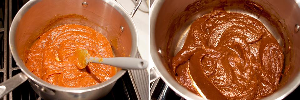 pumpkin butter cheesecake macaron spice macaron filling