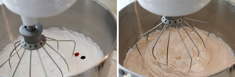 Apple pie macarons perfect macaron recipe gel food coloring meringue stand mixer