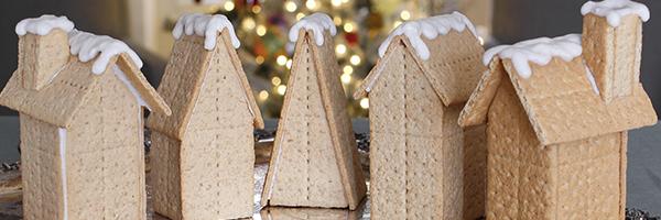 Graham cracker gingerbread houses recipe