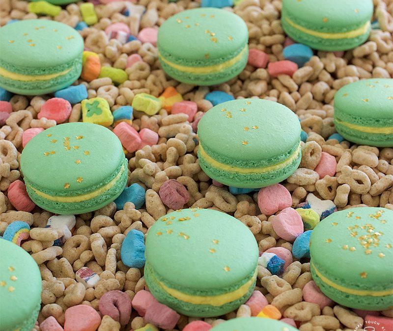 Lucky Charms Macarons