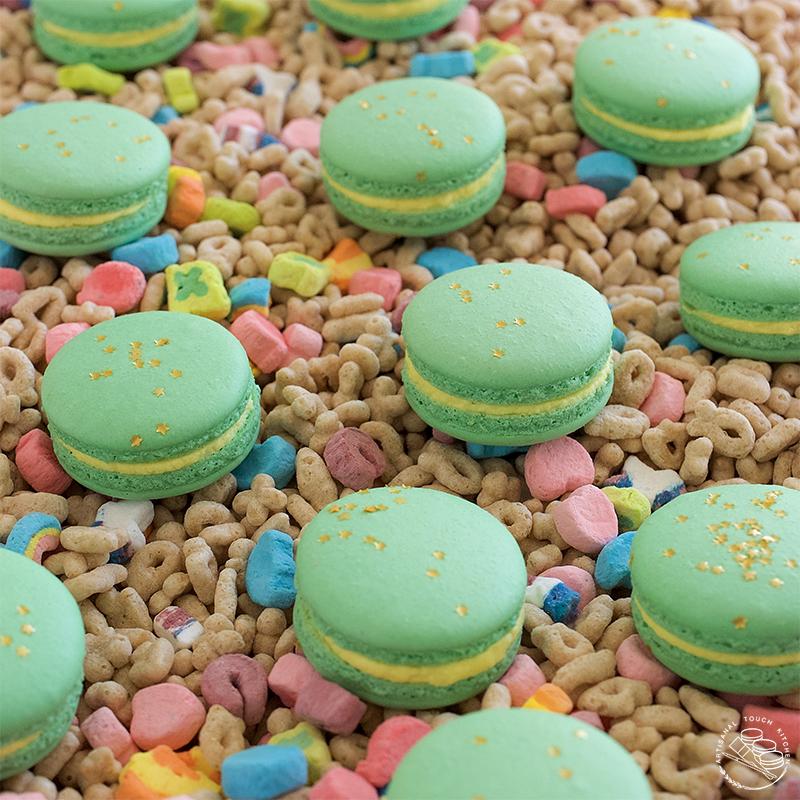 Lucky charms macarons 1