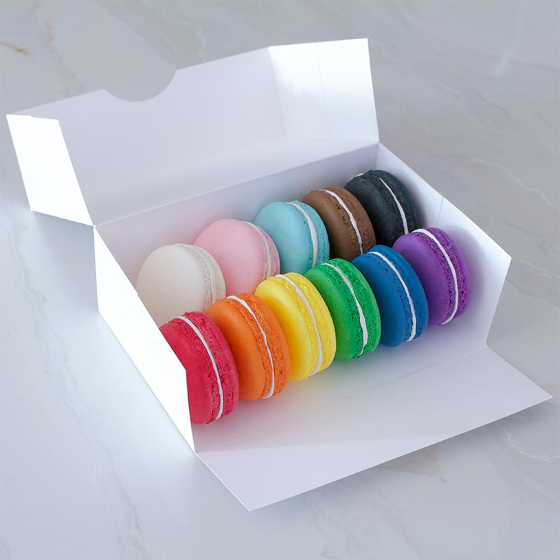 Pride Month Macarons